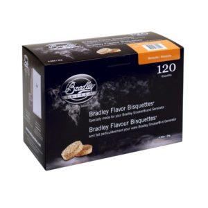 Udící brikety Bradley Smoker Mesquite 120 ks