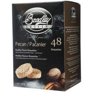 Udící brikety Bradley Smoker Pekan 48 ks