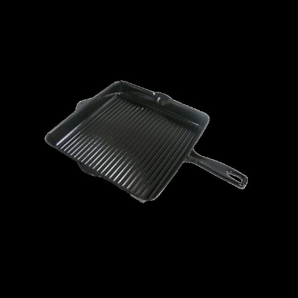 Černá litinová pánev 30 x 30 cm