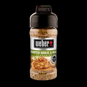 Koření Weber Roasted Garlic & Herb 156 g